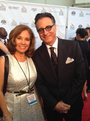 Andy Garcia and Suzette Valle at the Catalina Film Festival