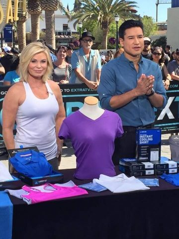 Arctic Cool as seen on Extra with Mario Lopez