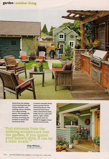 I 39 M In The October Issue Of Better Homes Gardens