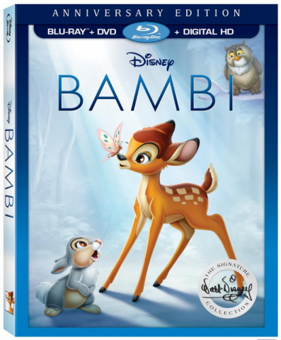 Bambi DVD, Blu-ray 75th Anniversary Edition