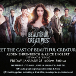 Meet cast members at UTC La Jolla in San Diego.
