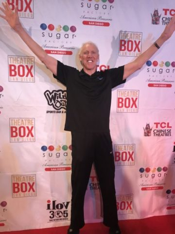 Bill Walton at Theatre Box