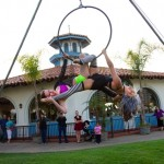 Buskers Acrobats Seaport Village