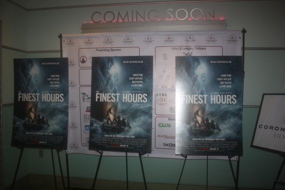 """""""The Finest Hours"""" Red Carpet at CIFF 2016"""