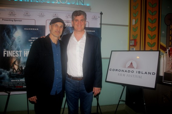 Craig Gillespie and James Whitaker at CIFF 2016. Photo S. Valle