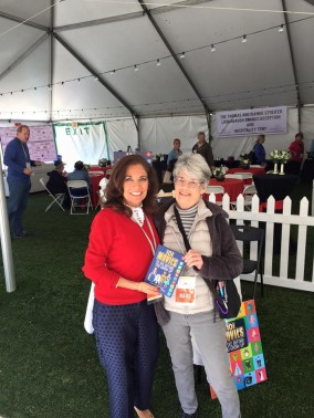 """Meet the Author """"101 Movies"""" Suzette Valle at CIFF Hospitality Tent"""