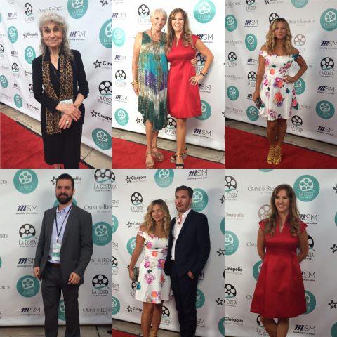 "Cast of ""All in Time"" at the La Costa Film Festival."