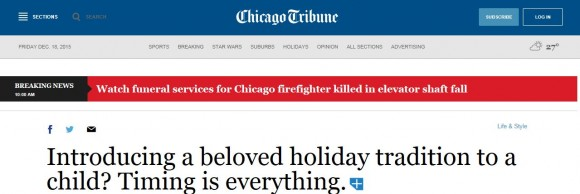 Chicago Tribune Header
