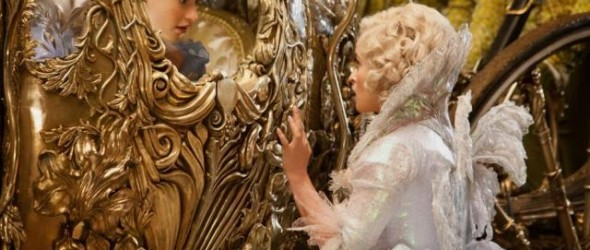 Cinderella with Fairy Godmother