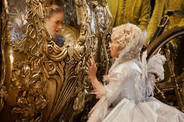 Cinderella with Fairy Godmother