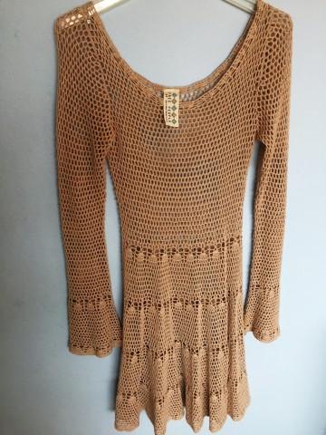 Coachella Free People Crochet Dress SM