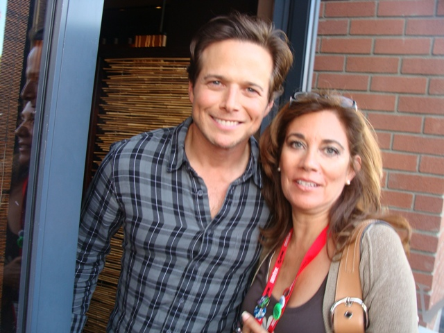"Scott Wolf star of ""V"" outside Nobu at Hard Rock Hotel during San Diego Comic-Con. Photo S. Valle"