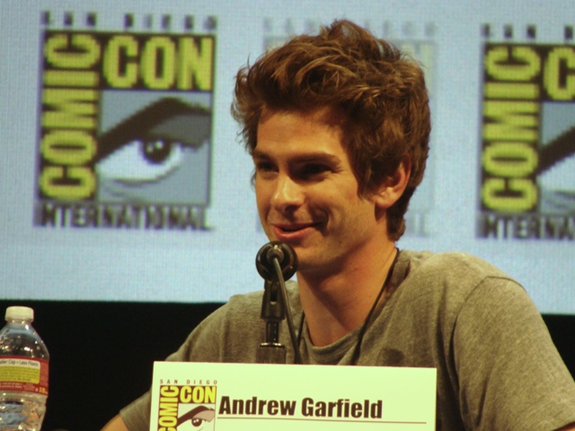 Andrew Garfield will be back at Comic-Con 2013 in San Diego for the Spider-Man 2 Panel. Photo S. Valle