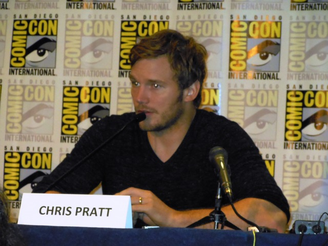 Comic-Con 2013 Chris Pratt Photo S. Valle