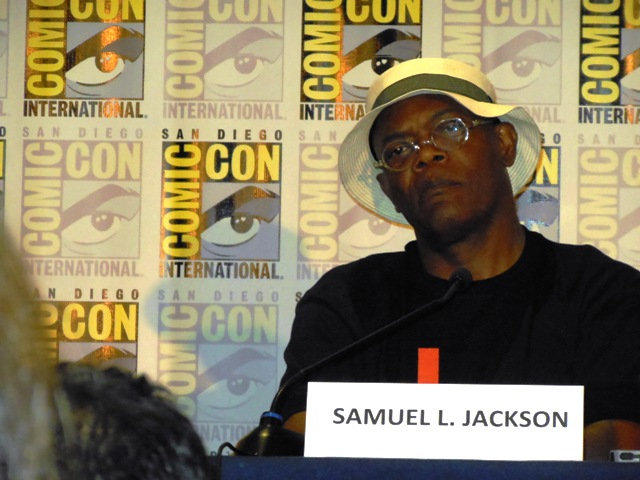 Samuel L. Jackson Marvel Comic-Con 2013