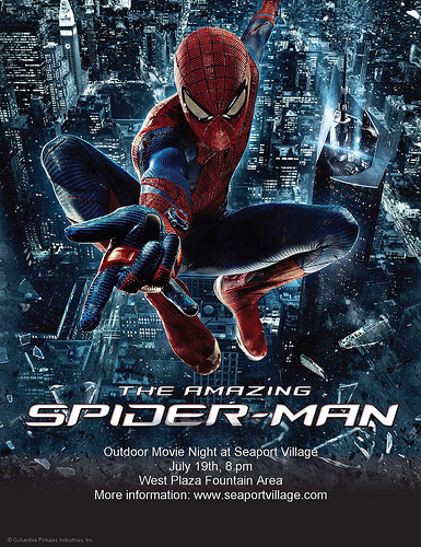 SpiderMan Flyer Movie Night Night  MamarazziknowsbestCom