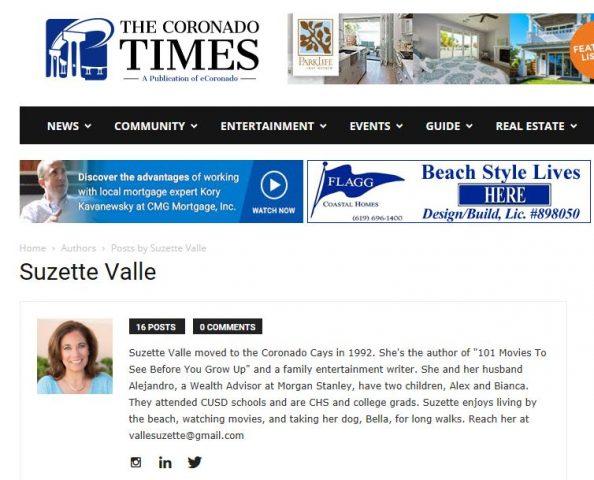 Coronado Times Author Page