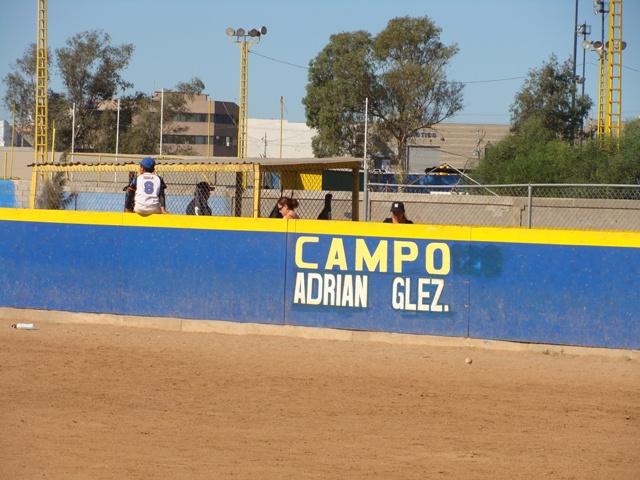 Adrian Gonzalez field at the Tijuana Little League. Campo Adrian Gonzalez en la Liga Municipal de Tijuana.