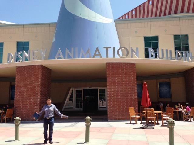Alex Valle at Disney Animation Studios