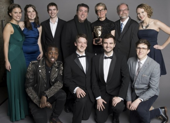Disney Animated team at BAFTAs