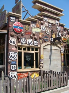 Route 66 is venerated at the new Cars Land attraction at California Adventure Park in Anaheim. Photo S. Valle