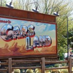 "California Adventure Park ""Cars Land"" entrance.Photo S. Valle"