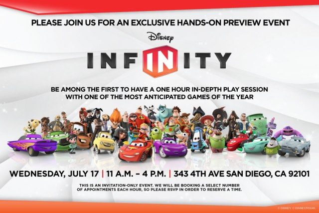 Disney InfINity Game at Comic-Con