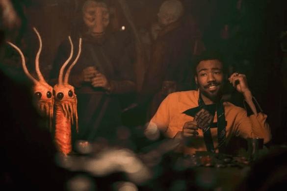Donald Glover as Lando Carlissian