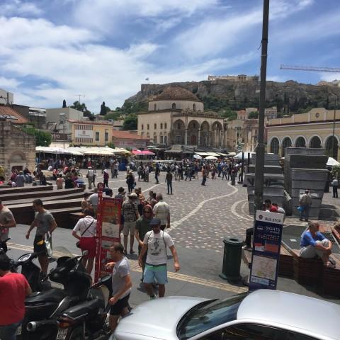 Monasteraki Flee Market, Athens, Greece