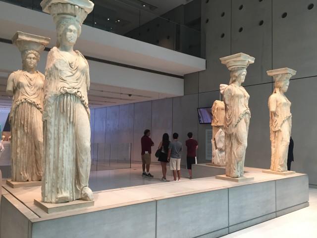 Caryatid, Acropolis Museum