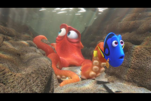 Finding Dory and Hank
