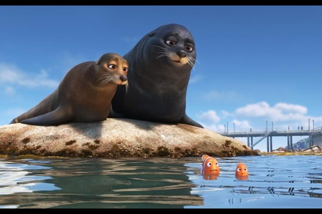 Finding Dory and Sea Lions