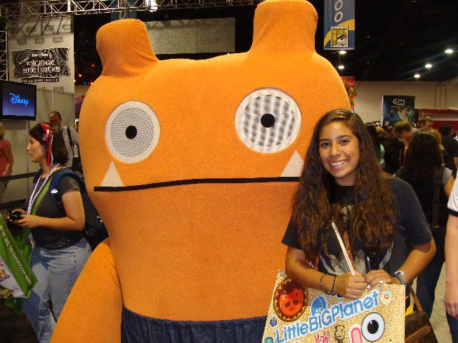 Uglydoll Character at Comic-Con. Photo S. Valle