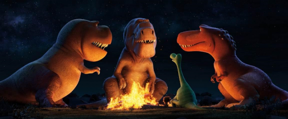 Good Dino with T-Rex
