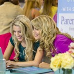 Lisa Whelchel and daughter Clancy Cauble