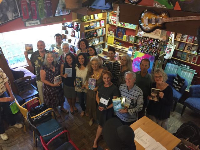 San Diego authors gathered at Upstart Crow to showcase their work.