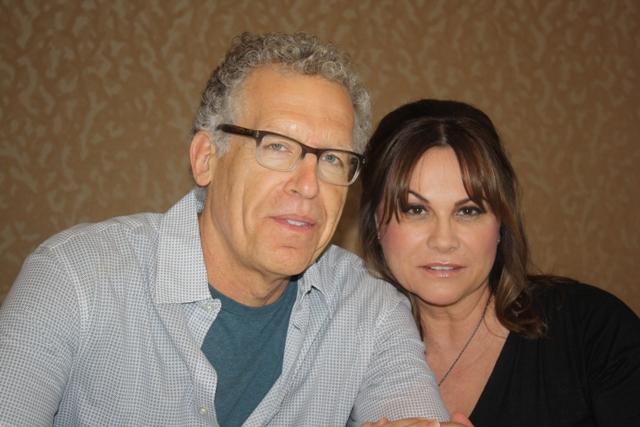 Bates Motel Screenwriters Cuse and Ehrin at Comic-Con 2014 Photo S. Valle