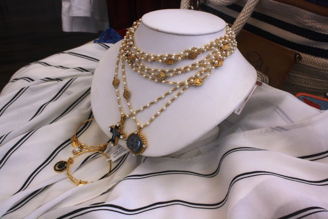 Free People Top $108 Bergen Saints and Angels Necklaces $265 - $299