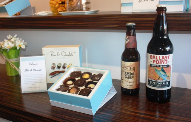 Dallmann Confections paired with beer