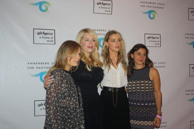 "Amanda de Cadenet, Amber Heard, and the GirlGaze team attended the opening of ""GirlGaze A Frame Of Mind."""