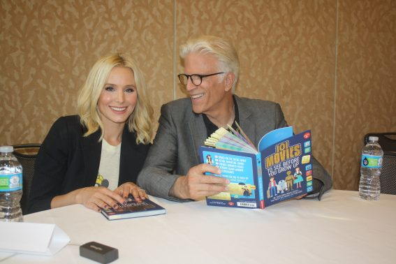 Kristen Bell and Ted Danson Comic-Con The Good Place. Photo S. Valle