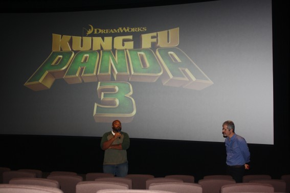 Kung Fu Panda 3 Animators Frank Abney and Paul Valle, at DreamWorks Animation Studios. Photo S. Valle