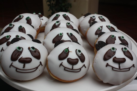 Po approved Panda donuts.