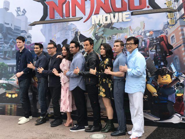 The Lego Ninjago Movie Cast at Legoland, CA