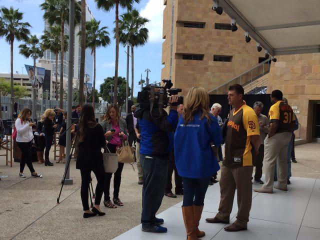 MLB All Star Game Media Day San Diego