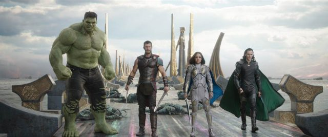 Marvel Thor Ragnarok Group