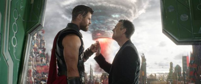Marvel Thor Ragnarok Hemsworth Ruffalo