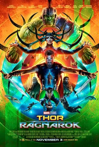 Marvel Thor Ragnarok Poster, Trailer, and Movie Stills Released at Comic-Con 2017