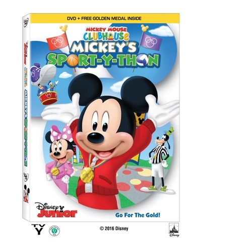 Mickey's Sport-Y-Thon DVD