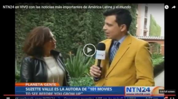 Entrevista con Suzette Valle en NuestraTele.com